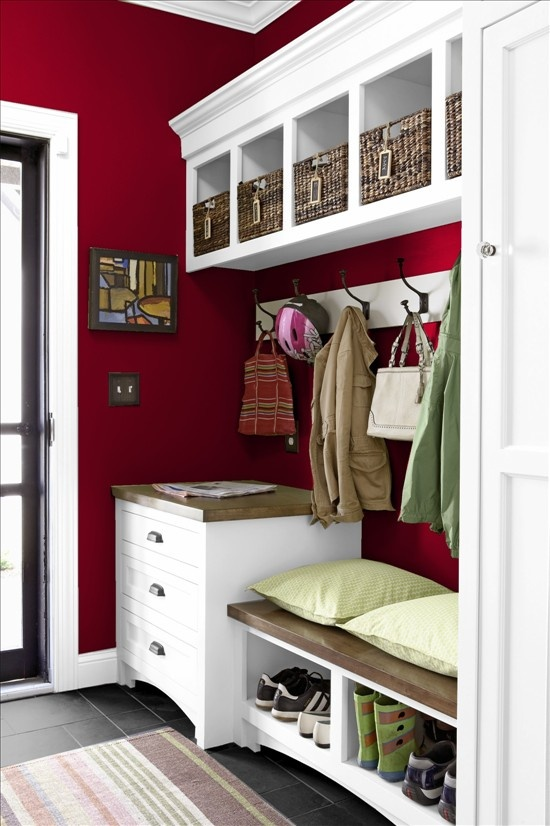 5 Red & White Room Design Ideas - The HipVan Blog