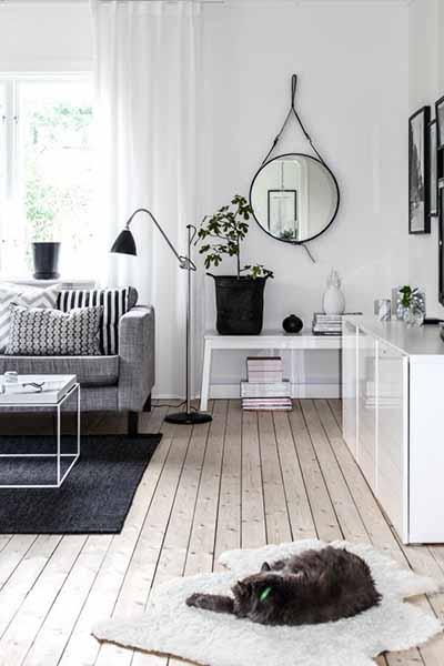Life in Mono: 12 Inspiring Black & White Living Room Designs - The HipVan Blog