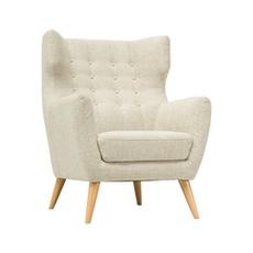 Kanion Single Seater Sofa - Almond