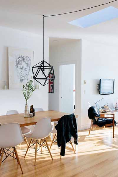 6 scandi industrial lights we can t resist hipvan blog for Minimalist house tour