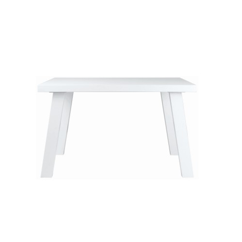 4 Seater Brent III Dining Table - White