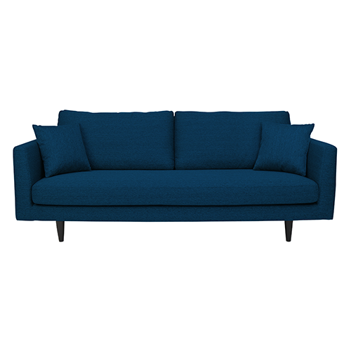Lisbon 3-Seater Sofa - Dark Blue