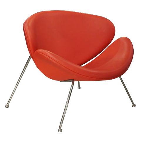 Orange Slice Chair - Red