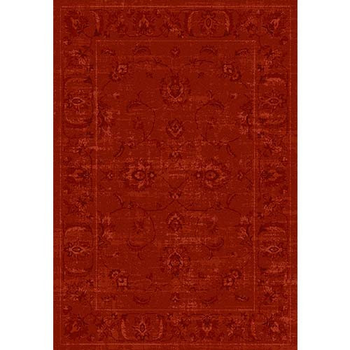 Elegance Cosy Carpet - Prints / Red