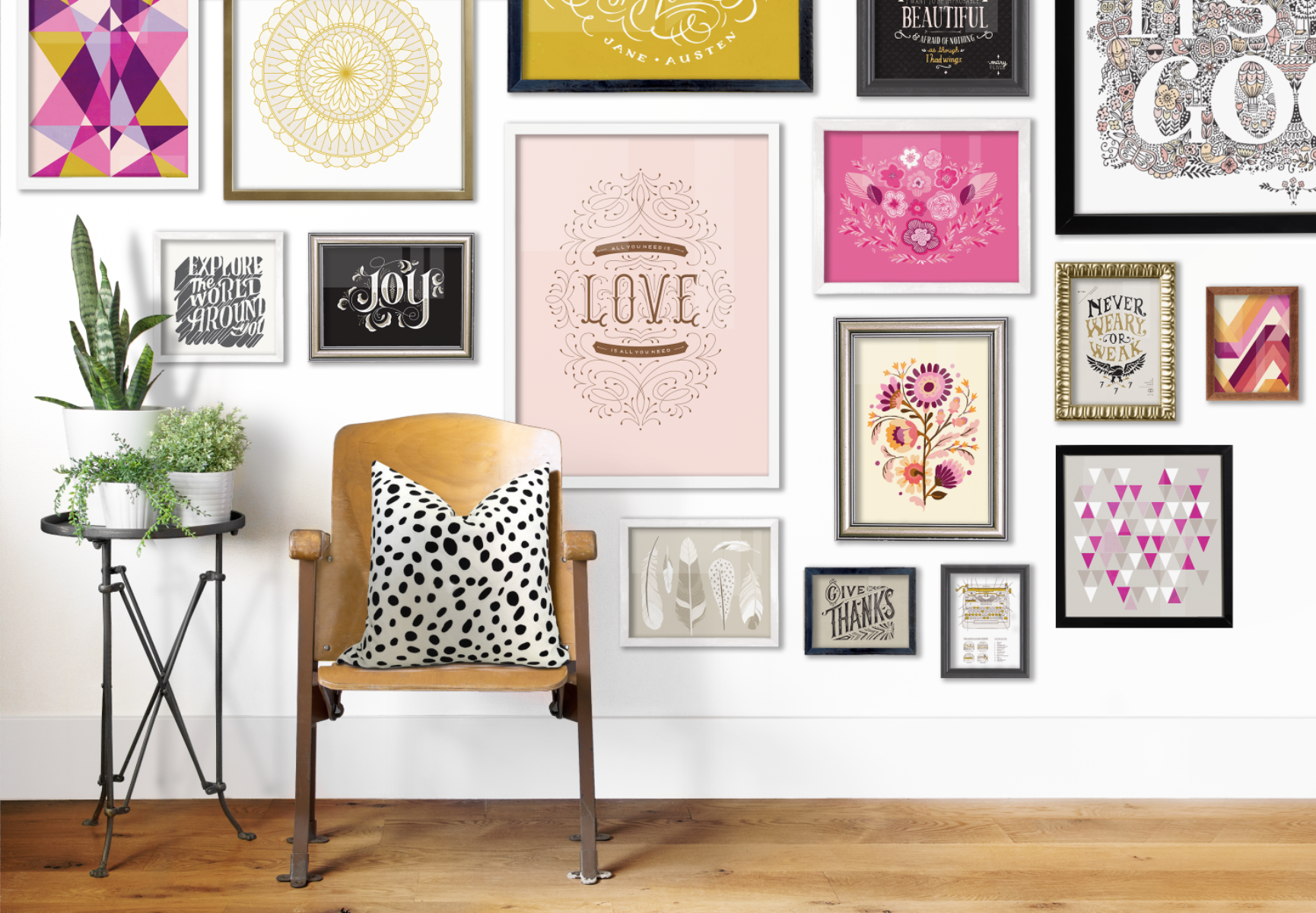 7 Gallery Wall Arrangements for Different... | HipVan Blog