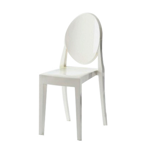Victoria Ghost Chair - Opaque White