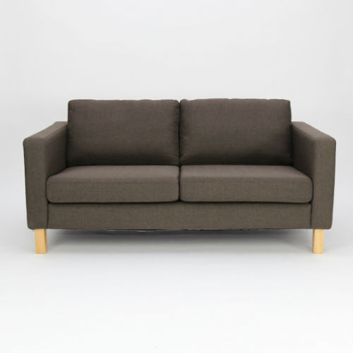 KOJA 2 Seater Sofa - Dark Brown