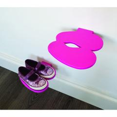 http://www.hipvan.com/collections/shoe-racks-cabinets/products/foot-print-shoe-shelf-pink