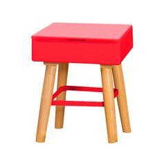 Tetris Stool - Red