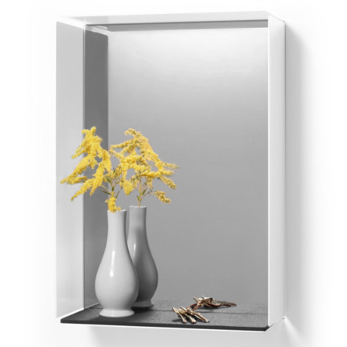MIRROR-BOX – White / Black