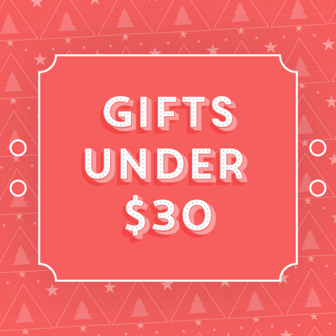 Gifts Under $30