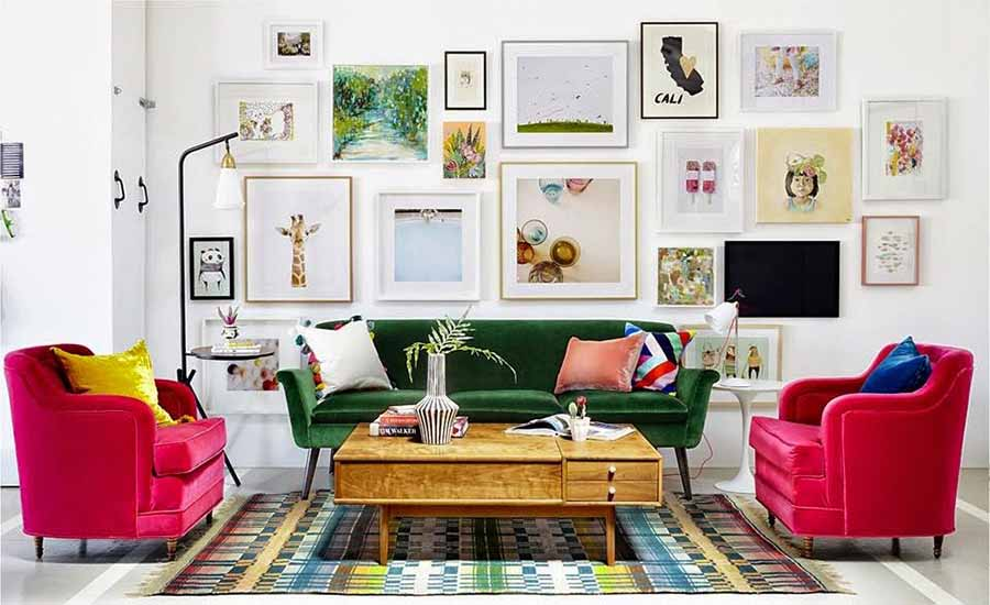 6 Steps To Creating The Perfect Gallery Wall - The HipVan Blog