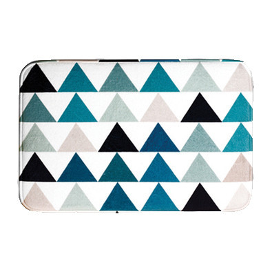 Nordic Triangles Memory Foam Mat