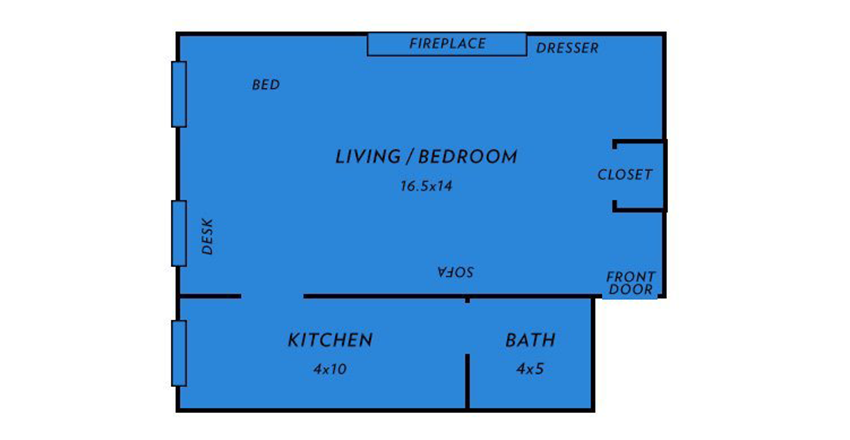 5 Layouts That Work For Small Apartments - The HipVan Blog
