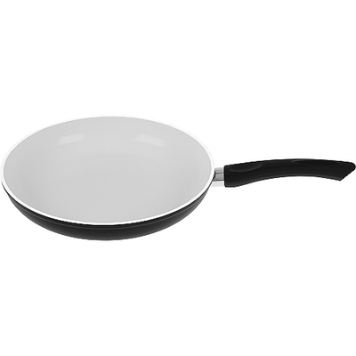 Induction Ready Ceramic Fry Pan - Black