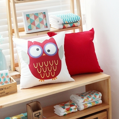 Kooky Owl Cushion