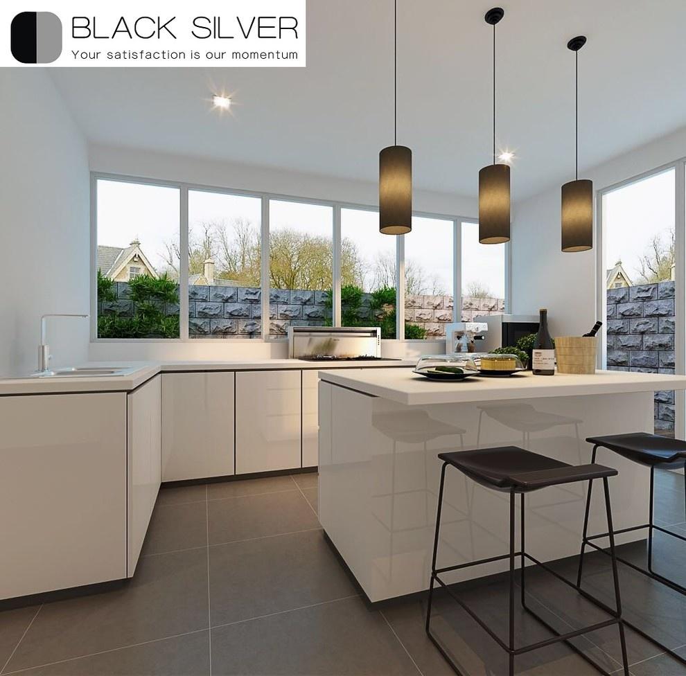 ID Feature: Black Silver Interior Design