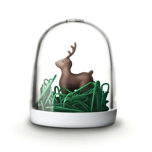 Deer In The Forest Paper Clip Holder